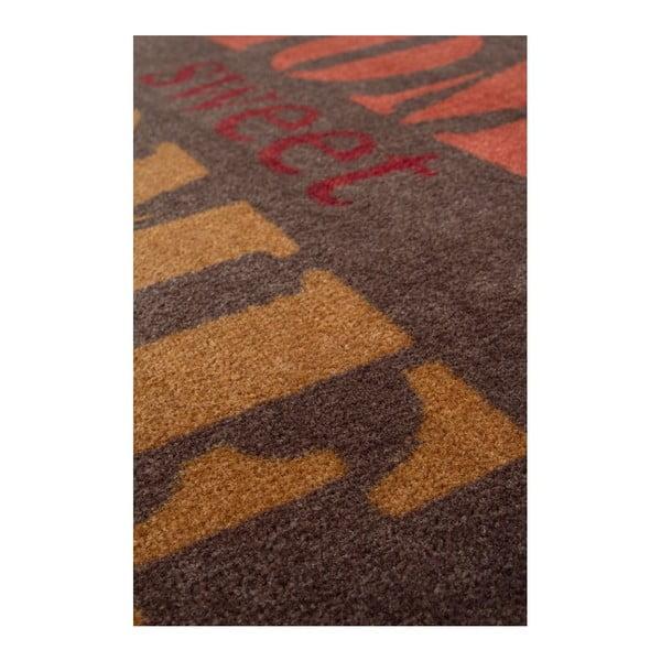 Rohožka Bonjour 123 Brown, 60x90 cm