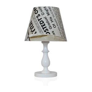 Stolní lampa Denní tisk