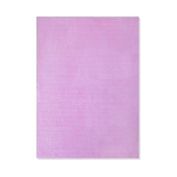 Dětský koberec Mavis Light Pink, 100x150 cm