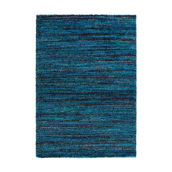 Modrý koberec Mint Rugs Nomadic, 80 × 150 cm