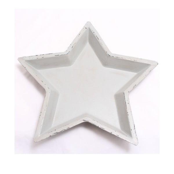 Dřevěný tác Hvězda