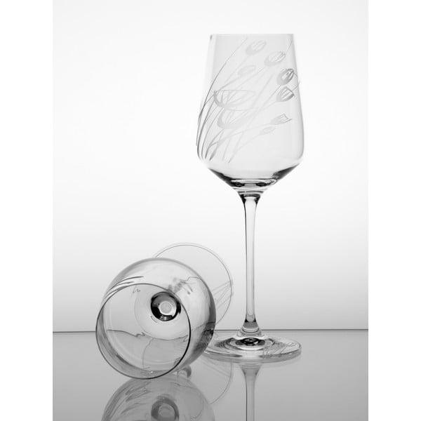 Ateliér Žampach, set 2 ks skleniček na bílé víno Černucha