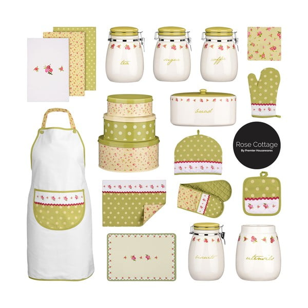 Set 3 dóz Premier Housewares Rose Cottage