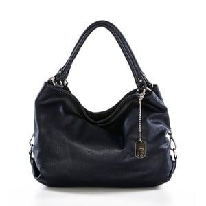 Tmavě modrá kabelka z pravé kůže Federica Bassi Tulsa