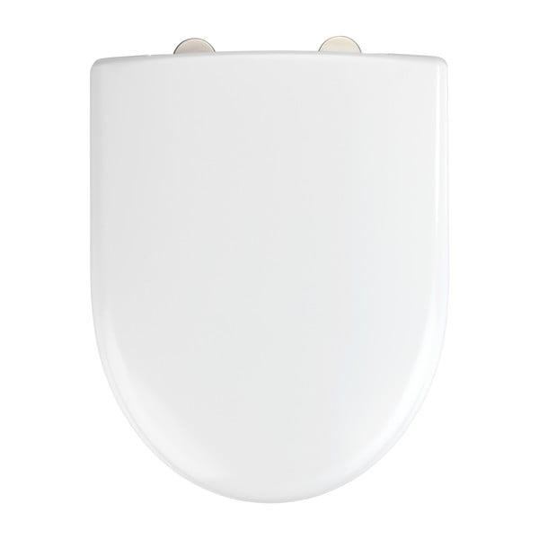 Bílé toaletní prkénko Wenko Exclusive Geberit Renova II.