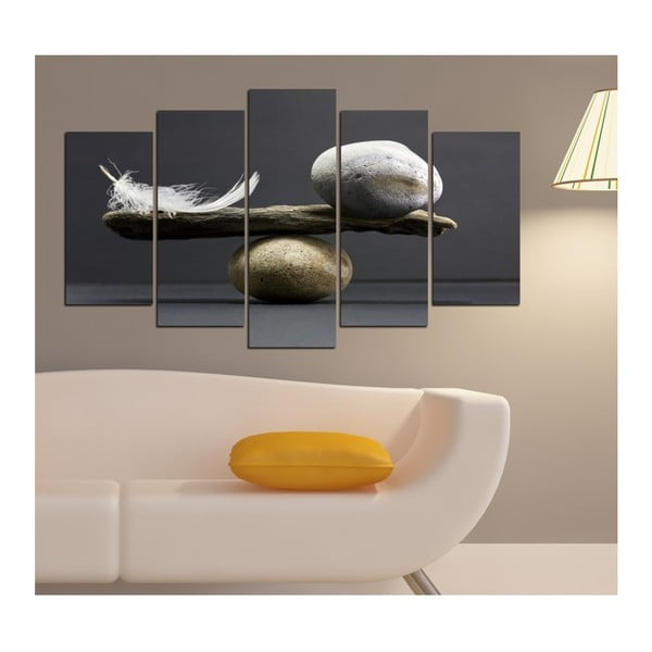 Tablou din mai multe piese Insigne Joren, 102 x 60 cm