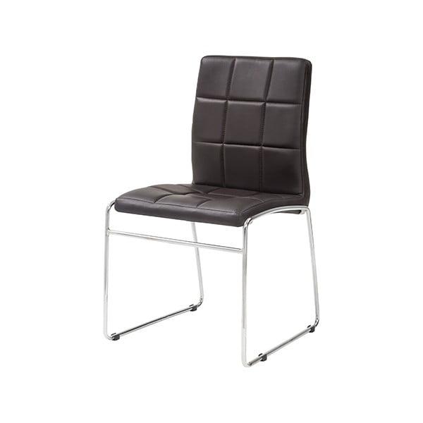 Jídelní židle Kid, tmavě hnědá