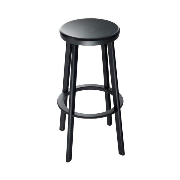Černá barová židle Magis Deja-vu, výška 76cm