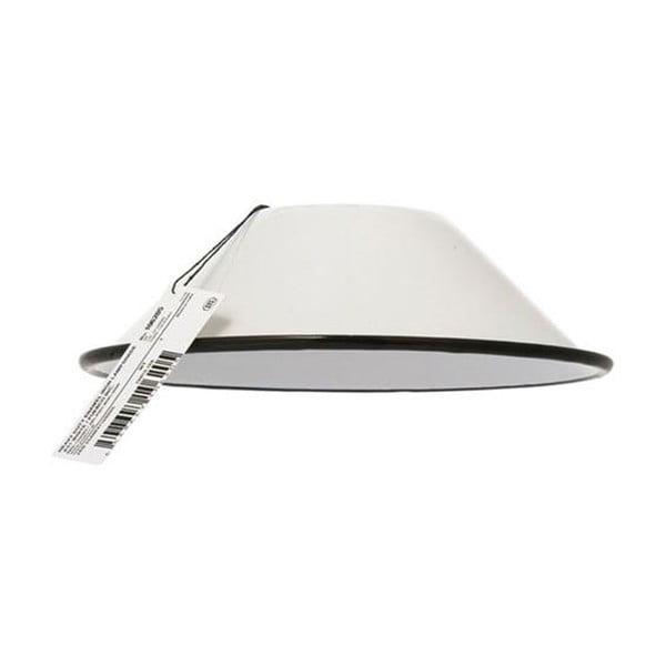 Bílé stínidlo na lampu Novita