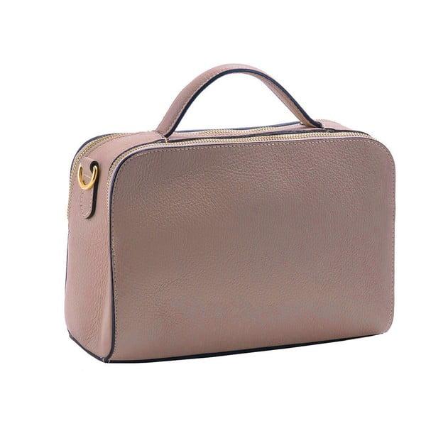 Růžová kabelka / taška z pravé kůže Andrea Cardone Galuia