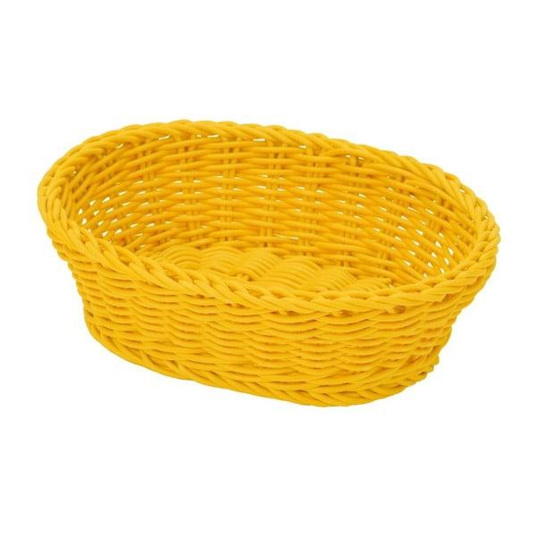 Košík Tischkorb Yellow, 23,5x16x6,5 cm