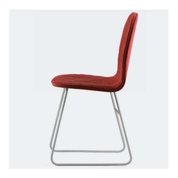 Židle Mannequin Metal, červená
