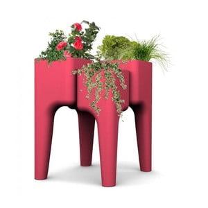 Designový květináč KIGA Medium 88x68 cm, červený