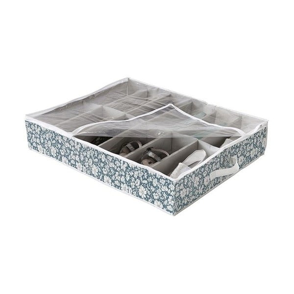 Cutie de depozitare sub pat pentru pantofi Compactor Vicky Shoes 76 x 60 cm