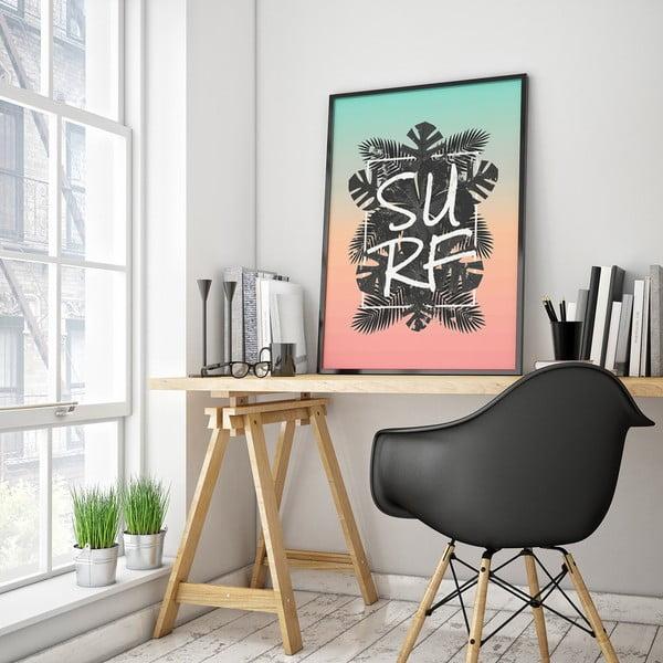 Plakát Surf, 30 x 40 cm