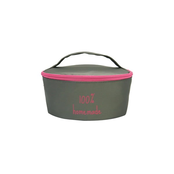 Pouzdro na svačinovou krabičku Bento G.Lunch Grey/Pink