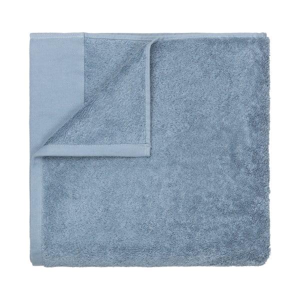 Modrá bavlněná osuška Blomus, 100x200cm
