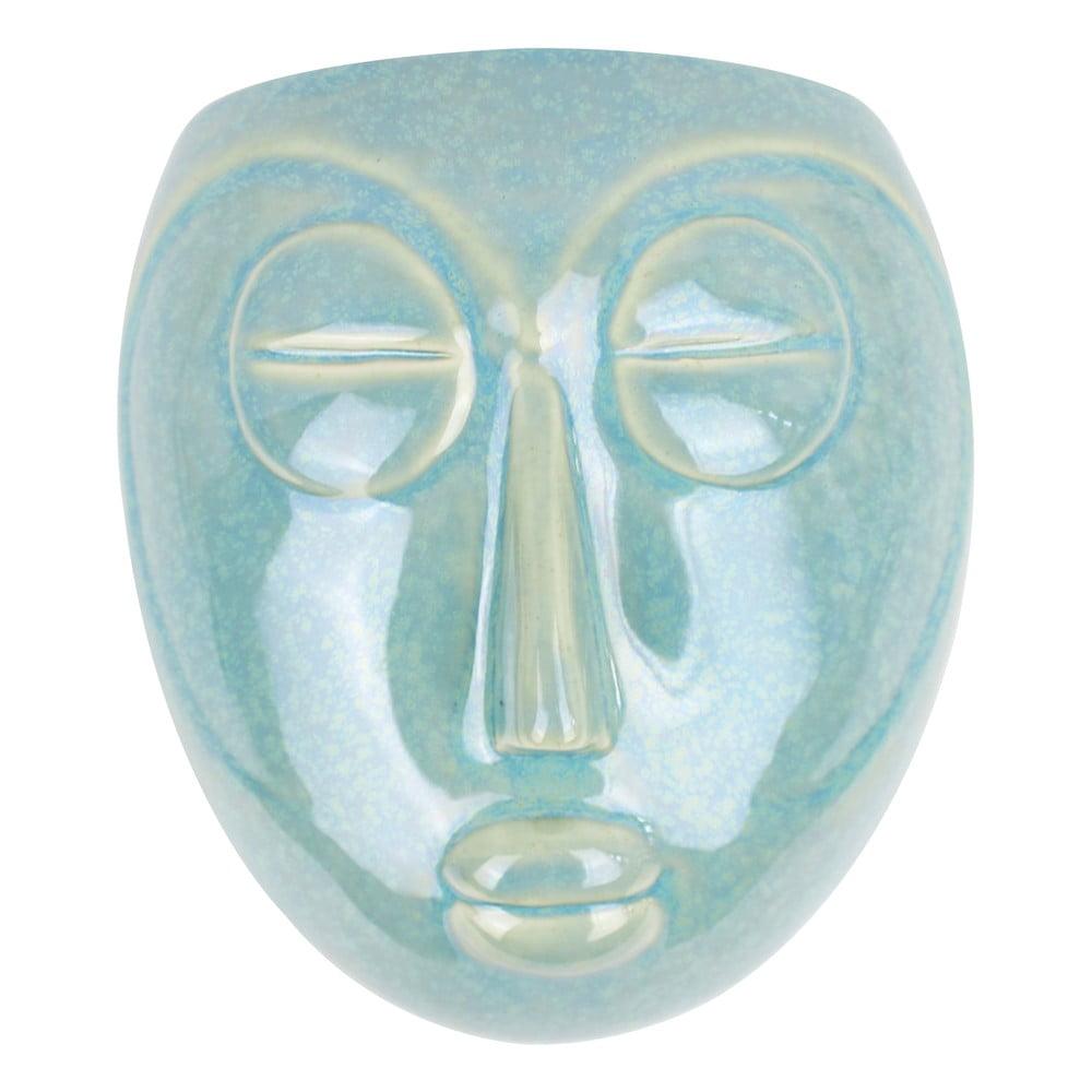 Zelený nástěnný květináč PT LIVING Mask, 16,5x17,5cm