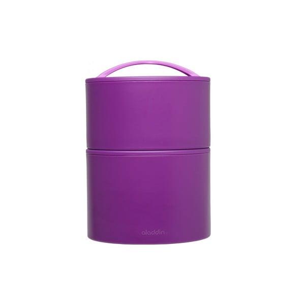 Termobox na oběd či svačinu Bento 950 ml, fialový