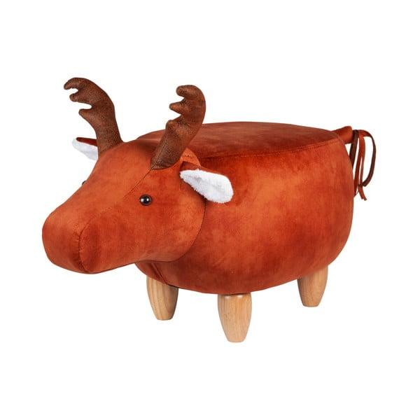 Moose rénszarvasformájú zsámoly, 81x36cm - RGE