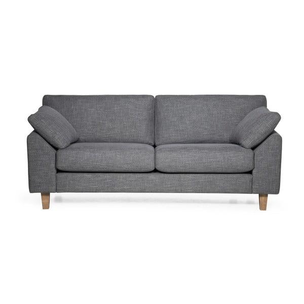 Szara sofa 3-osobowa Softnord Garda