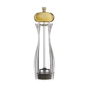 Střední mlýnek na sůl či pepř s detailem zlaté barvy Premier Housewares Mill