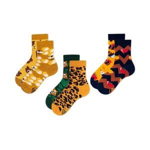 Sada 3 dětských ponožek Many Mornings Honey Bear, vel.27-30