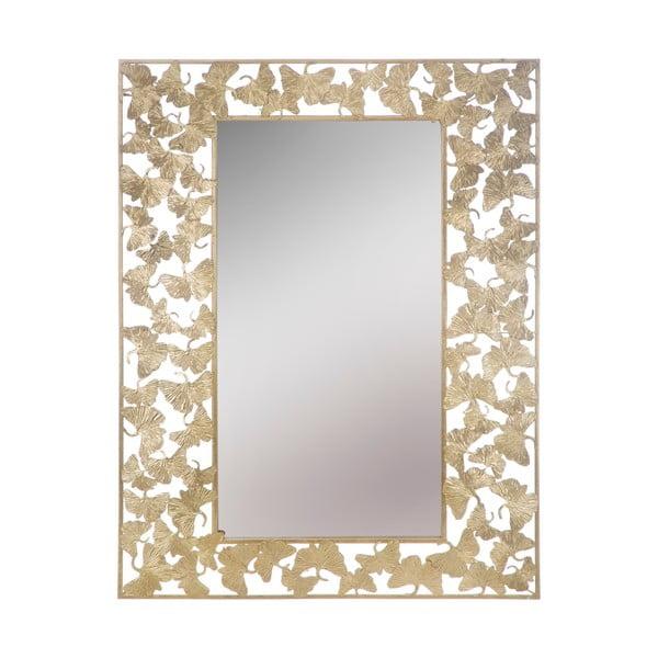 Foglioline Glam aranyszínű falitükör, 85 x 110 cm - Mauro Ferretti