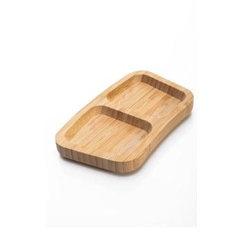 Bol servire din bambus Bambum Piazza, 17,5 cm de la Bambum