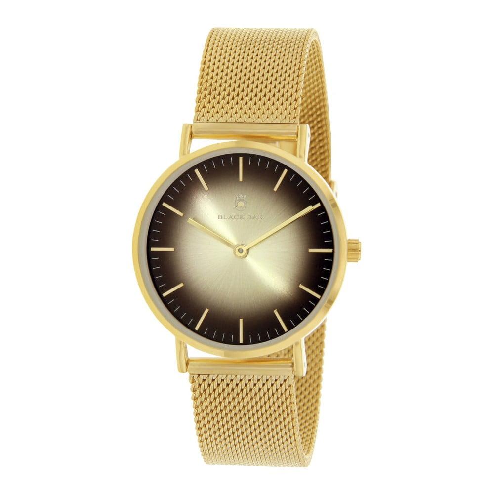 Zlaté dámské hodinky Black Oak Gulio