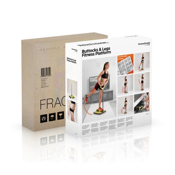 Platformă pentru mușchii fesieri şi picioare cu ghid de exerciții InnovaGoods Fitness