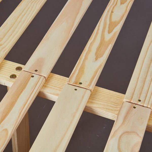 Postel z borovicového dřeva Interlink Ebbo, 140 x 200 cm
