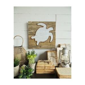 Nástěnná dřevěná dekorace Orchidea Milano Pannel Turtle