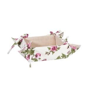 Košík na pečivo Roses, 35x35 cm