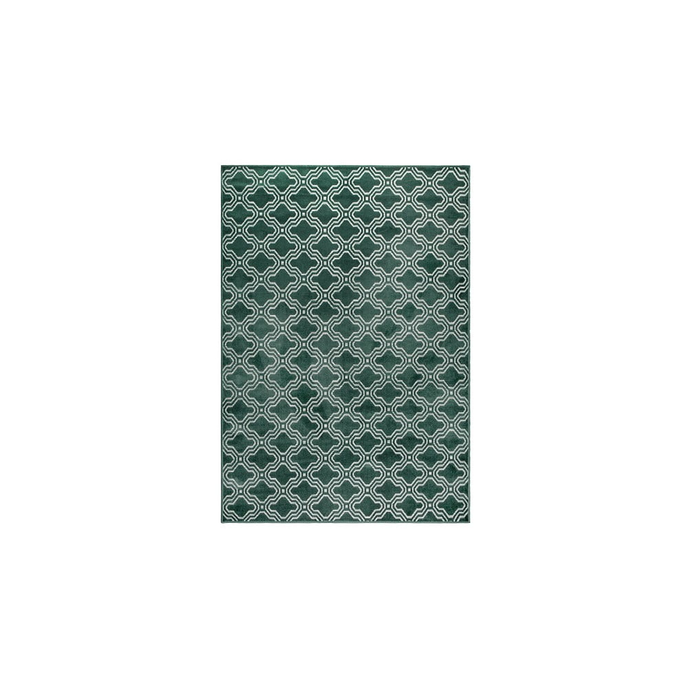 Zelený koberec White Label Feike, 160x230cm