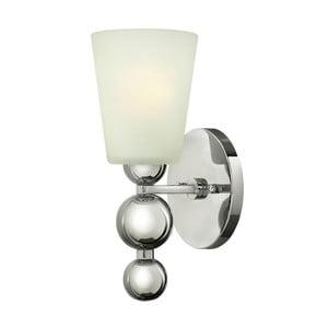 Nástěnné svítidlo ve stříbrné barvě Elstead Lighting Zelda Uno