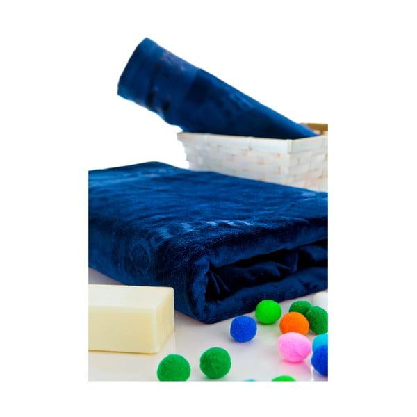 Sada osušek 50x100 a 150x80 cm, tmavě modrá