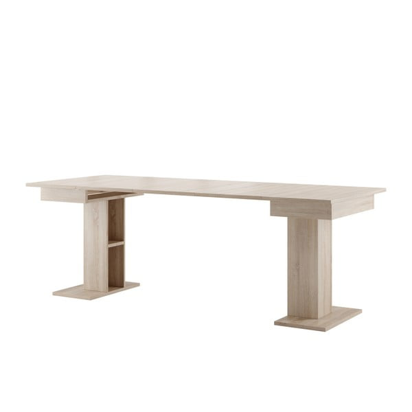 Rozkládací jídelní stůl v dekoru dubového dřeva Szynaka Meble Star 5