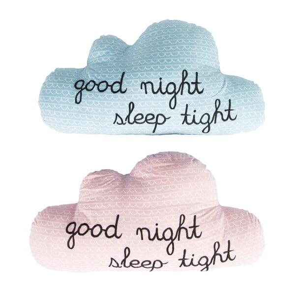 Růžový polštářek Sass & Belle Good Night