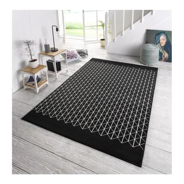 Černý koberec Zala LivingTwist, 160x230cm