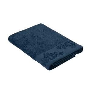 Modrý ručník z bavlny Bella Maison Damask, 30 x 50 cm