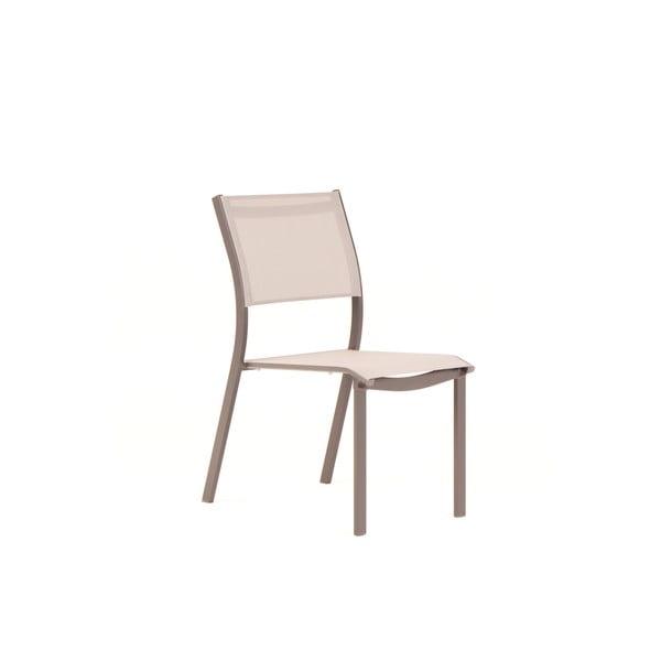Set 4 scaune de grădină Ezeis Zephyr, bej