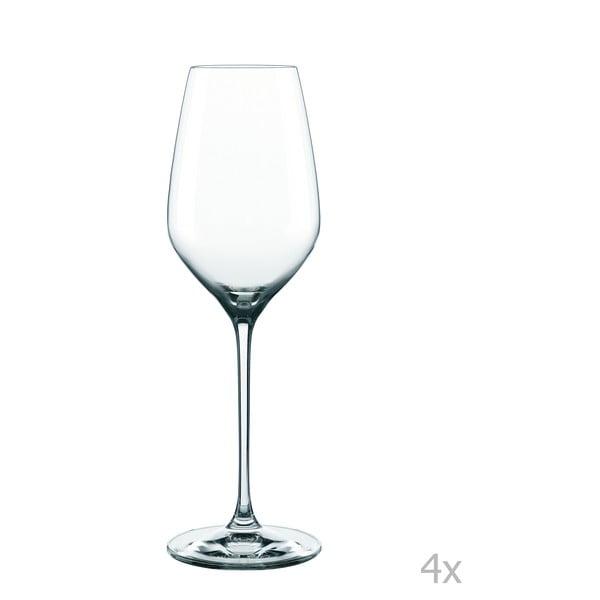 Sada 4 pohárov na biele víno z krištáľového skla Nachtmann Supreme White Wine, 300 ml