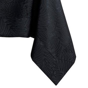 Față de masă AmeliaHome Gaia Black, 140 x 400 cm, negru