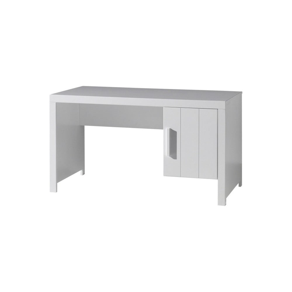 Bílý dětský pracovní stůl Vipack Erik