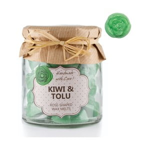 Sada 18 malých vonných svíček Kiwi and Tolu