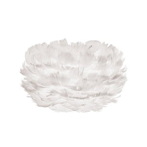 Abajur corp de iluminat cu pene de gâscă EOS Micro White, alb