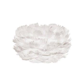Abajur cu pene de gâscă EOS Micro White, alb imagine