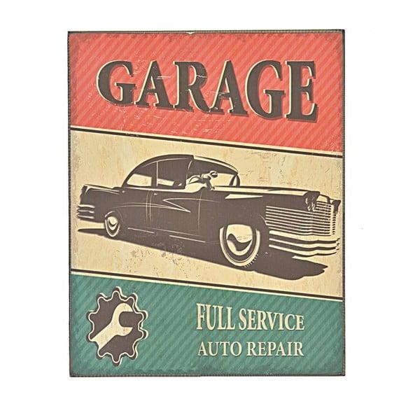 Nástěnná cedule Garage 1, 24x30 cm
