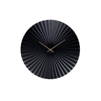 Ceas Karlsson Sensu, Ø 40 cm, negru de la Karlsson